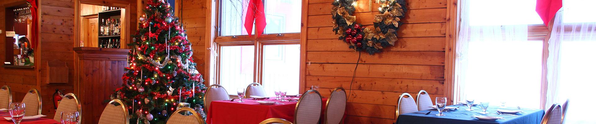 restaurant party noel québec