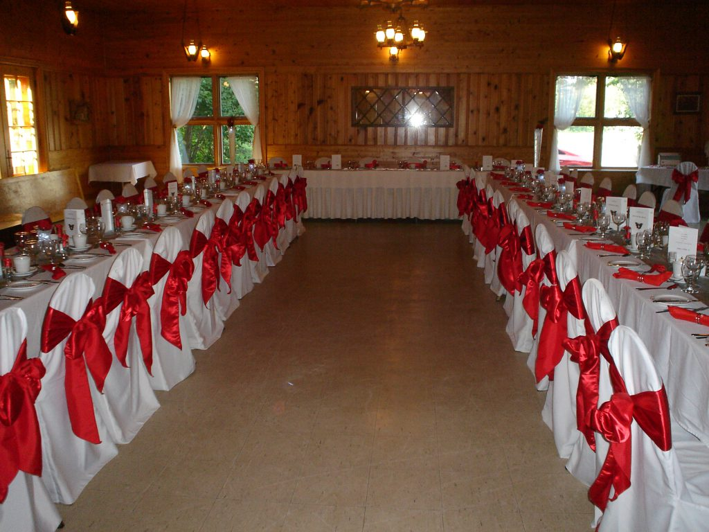 decoration mariage table en u